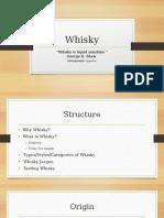 Whisky 101 Presentation