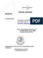 Cruise Control Devices Abstract