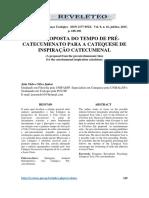 UMA PROPOSTA DO TEMPO DE PRÉCATECUMENATO PARA A CATEQUESE DE INSPIRAÇÃO CATECUMENAL.pdf