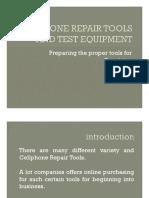 CP REPAIR TOOLS AND EQUIPMENT