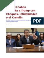 La Pagina - Michael Cohen desnuda a Trump con Cheques - 28 02 2019