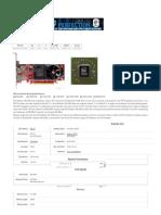 ATI Radeon HD 4350 Especificaciones