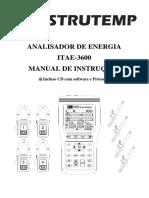 Analisador de Energia Instrutemp ITAE-3600
