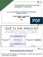 ATENCIÓN - PRESENTACION ESTANDARIZACIÒN  CONTROL  PROCESOS - 1