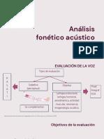 Análisis fonético acústico