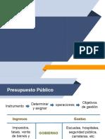 Presupuesto Público Nacional