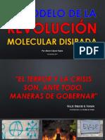 El Modelo de Revolución Molecular Disipada