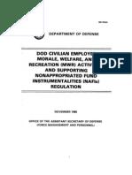 DoD 1015.8-R