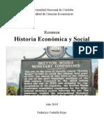 Resumen Historia Económica y Social 2019