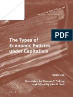 The Types of Economic Policies Under Capitalism-Brill (2016)