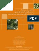 normes de gestion forestiere