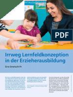 Irrweg Lernfeldkonzeption in Der Erzieherausbildung. Eine Streitschrift