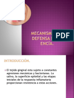defensa de la encía