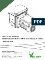 Moteur_Ridder_RW45_1phase_3wire-Manual_ES.pdf