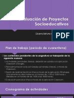 Pedagogía plan de trabajo cuarentena