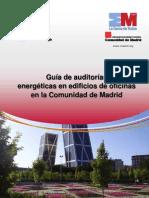 Guia de Auditorias Energeticas en Edificios de Oficinas de La Comunidad de Madrid