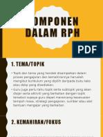 Komponen dalam rph