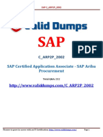 SAP C_ARP2P_2002  Certification Dumps of Pass Guaranteed Questions from this link