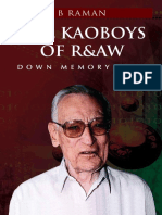 The Kaoboys of R&AW_ Down Memor - B. Raman-1.pdf