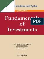 Fundamentals of Investment - Vanita Tripathi