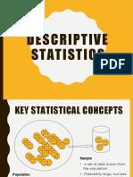 W2 descriptive statistics