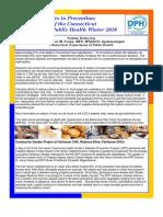 Diabetes Newsletter Winter 2010 Copy
