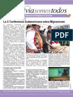 Boletín Informativo Bolivia Somos Todos