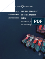 (Human Rights Interventions) Tatsuya Yamamoto, Tomoaki Ueda - Law and Democracy in Contemporary India_ Constitution, Contact Zone, and Performing Rights-Springer International Publishing,Palgrave Macm.pdf