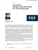 [Nordic Tax Journal] Corporate Social Responsibility Taxation and Aggressive Tax Planning-6.pdf