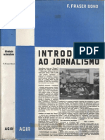 LIVRO - JORNALISMO - Introdução ao Jornalismo.- Fraser Bond