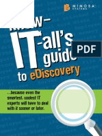 Know IT All Guideto eDiscovery