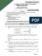 Audit Assurance sub
