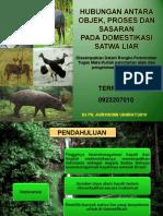 Presentasi Pelestarian Alam Dan Pengelolaan Marga Satwa