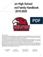 MHS Student and Family Handbook 2019-2020
