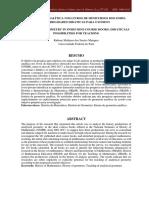 Geometria analítica nos livros de minicursos dos SNHM