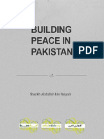 Shaykh Abdullah bin Bayyah - Building Peace in Pakistan [English]
