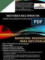 INSPECCION, REMOCION Y REPARACION DE M. RECIPROCOS
