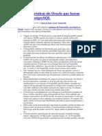 16 características do Oracle que fazem falta no PostgreSQL