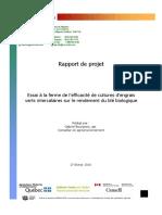08-BIO-01 rapport final