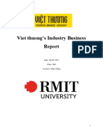 Business information system, industry report.docx
