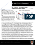 Mosaic Financial Conditions Index