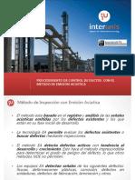 Metodo NDT de Emisiones Acusticas EA para lineas y tanques