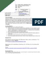 UT Dallas Syllabus for soc4396.0i1.11s taught by Euel Elliott (eelliott, mpa051000)