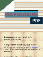 Slide Prepositions