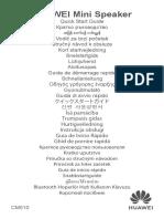 HUAWEI Mini Speaker Gu¨ªa de inicio r¨¢pido(CM510,01,ES).pdf