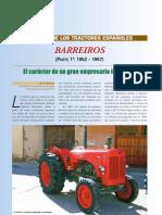 Historia Tractores Barreiros Eloy Galvan