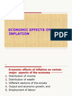 Economic Effects of Inflation