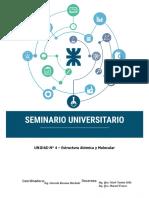Unidad IV - Estructura atómica y molecular