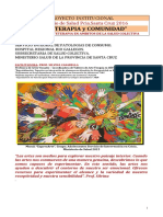 PROYECTO 2014 ARTETERAPIA -SALUD COLECTIVA
