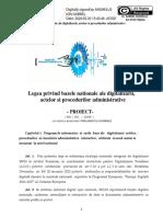 Proiect _Av I G Anghelus_ Legea Bazei Nationale de Digitaltizare a Actelor Si Procedurilor Administrative